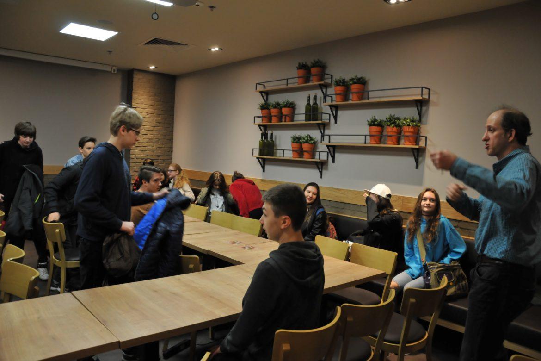 English language workshop with Mr Benjamin Burg