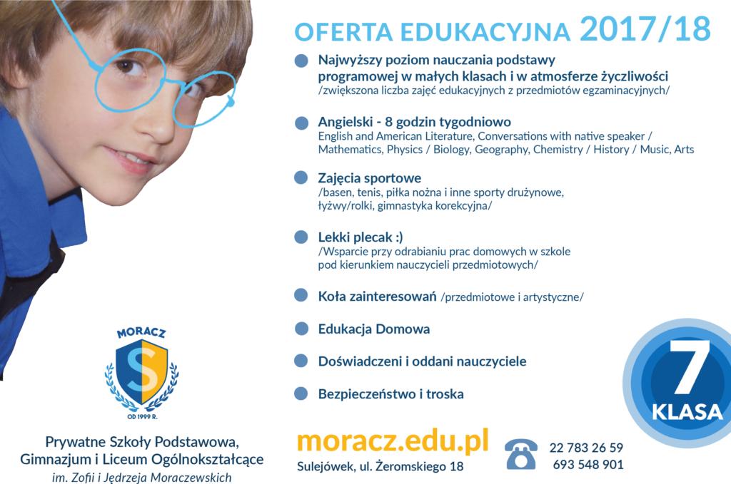 oferta edukacyjna, edukacja, moracz, szkoła, gimnazjum, liceum, sulejówek