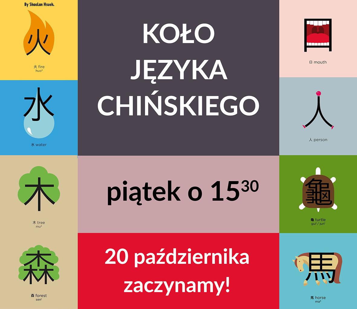 język chiński w moraczu, zajęcia z języka chińskiego, koło języka chińskiego