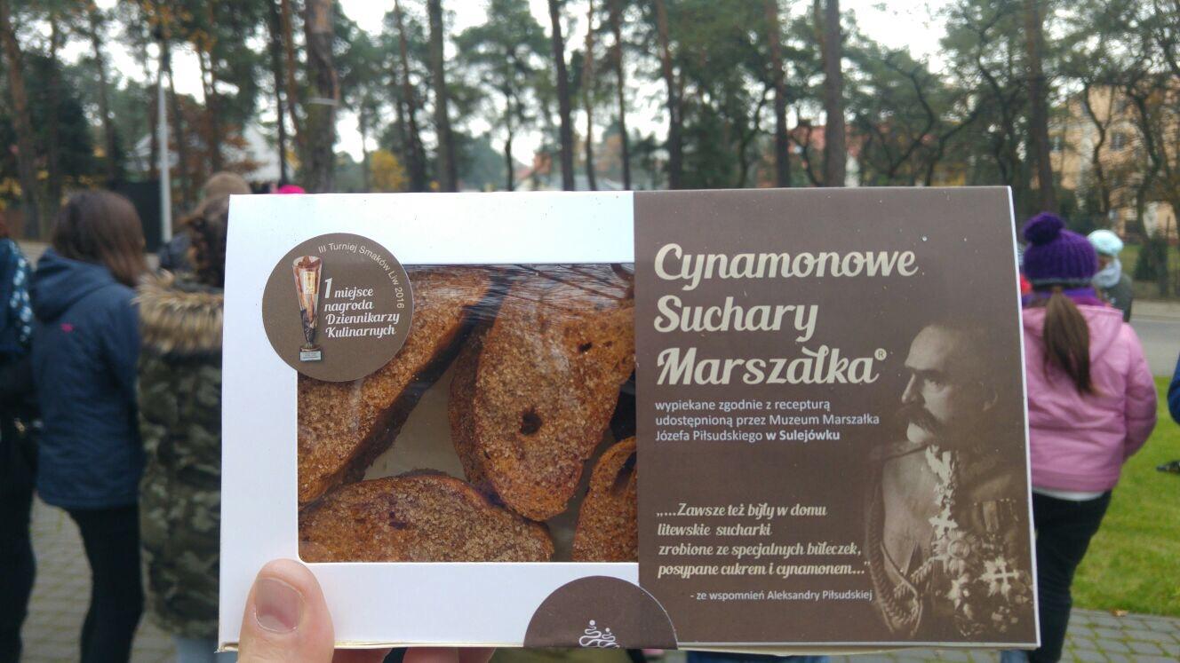 DzieńNiepodległości - Cynamonowe Suchary Marszałka Piłsudskiego, Prywatna Szkoła imienia Moraczewskich i smakołyki
