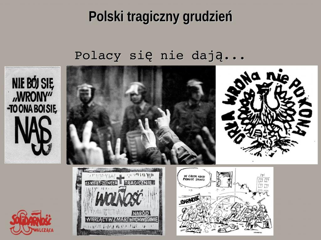 wolność, nie bój się wrony to ona boi się nas, polska walcząca