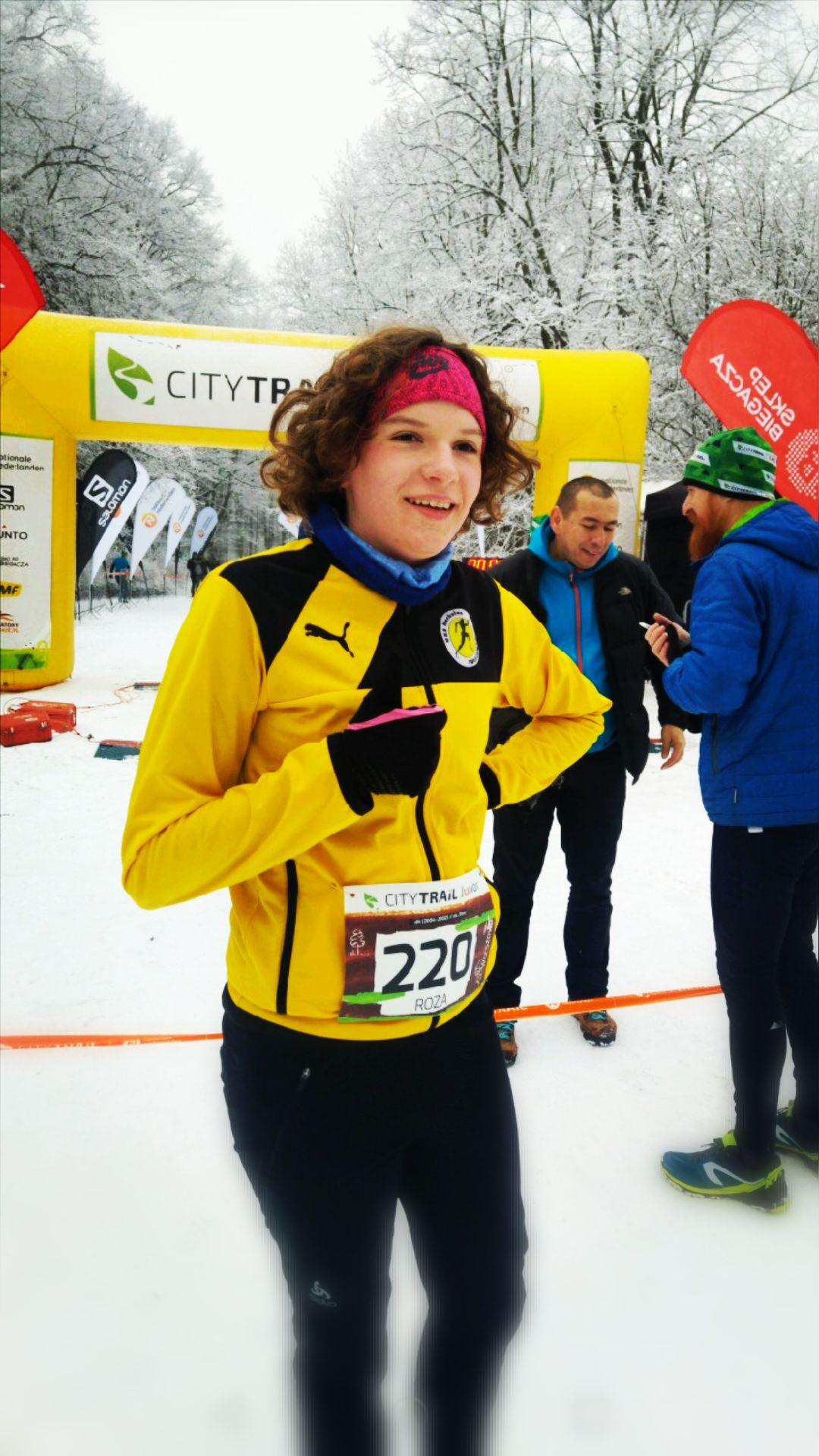 Róża Abramowicz, roza, biegi city trail, sulejówek, klub sportowy uks sulejówek