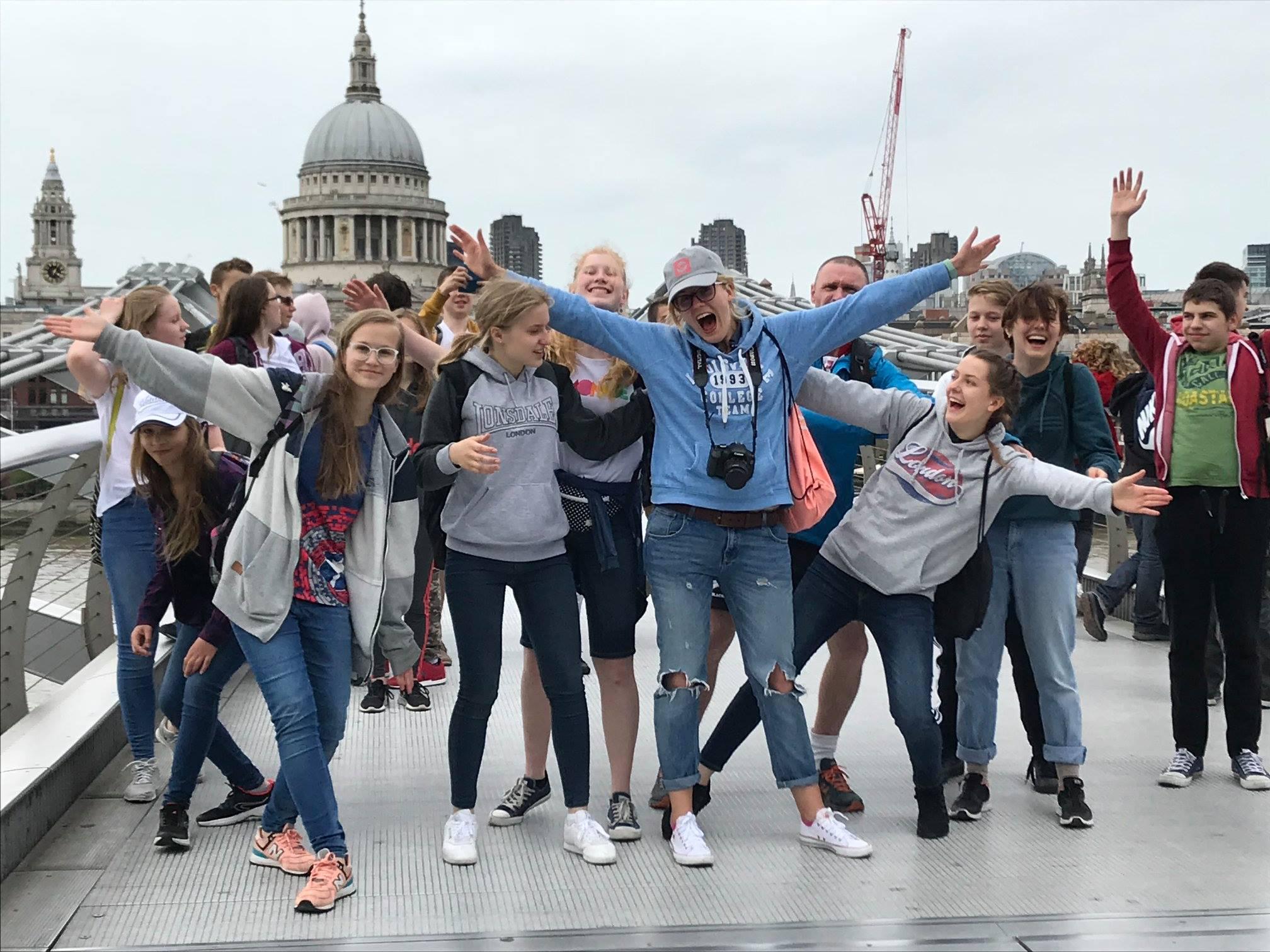 Wycieczka do Londynu 2018
