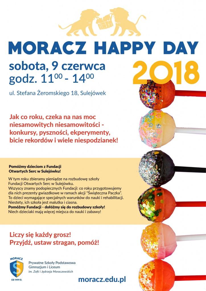 happy day, moracz, szkoła moraczewskich, szkoła w sulejówku, szkoła w Rembertowie,