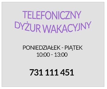 telefoniczny dyżur wakacyjny w szkole, szkoła moraczewskich kontakt, kontakt w wakacje, szkoła kontakt wakacje