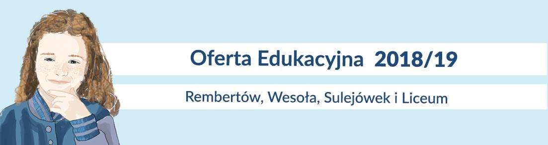 Oferta dla uczniów w Edukacji Klasycznej