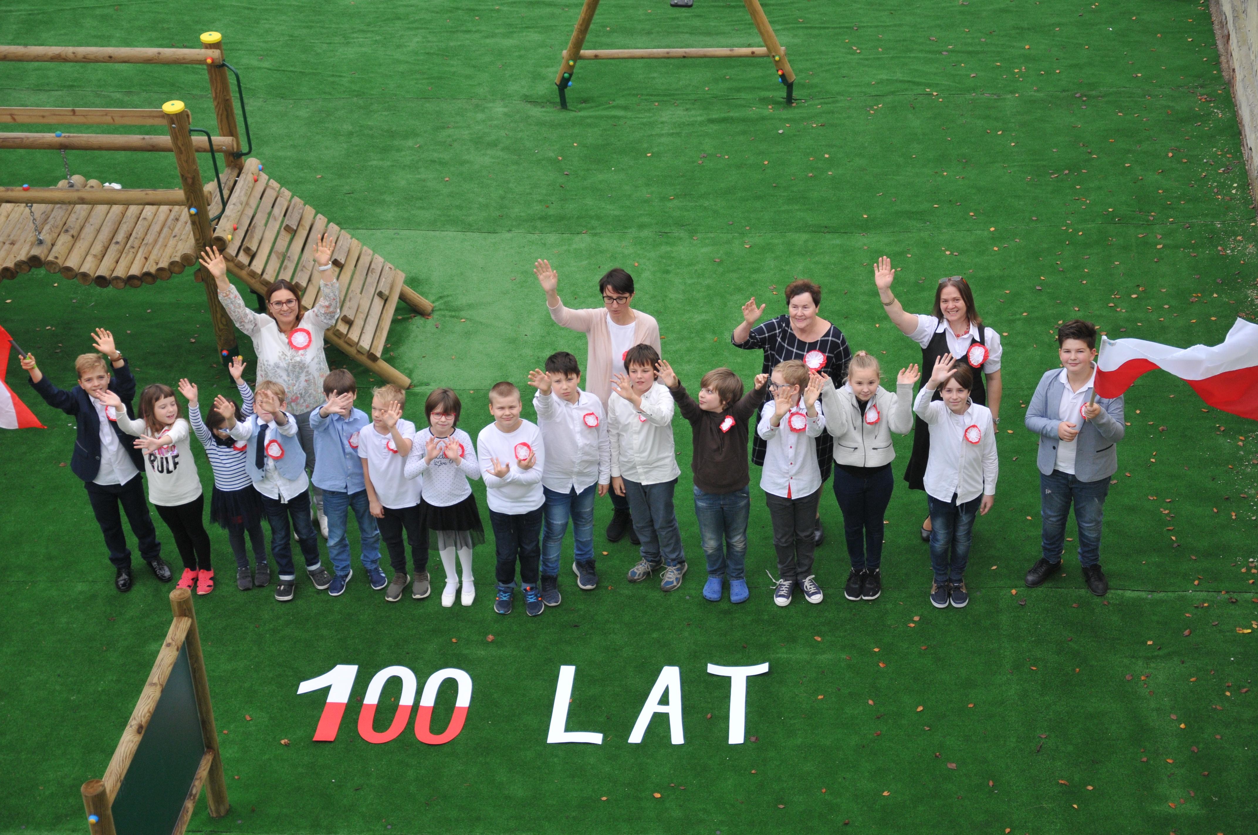 Święto Niepodległości w Szkole Podstawowej w Rembertowie