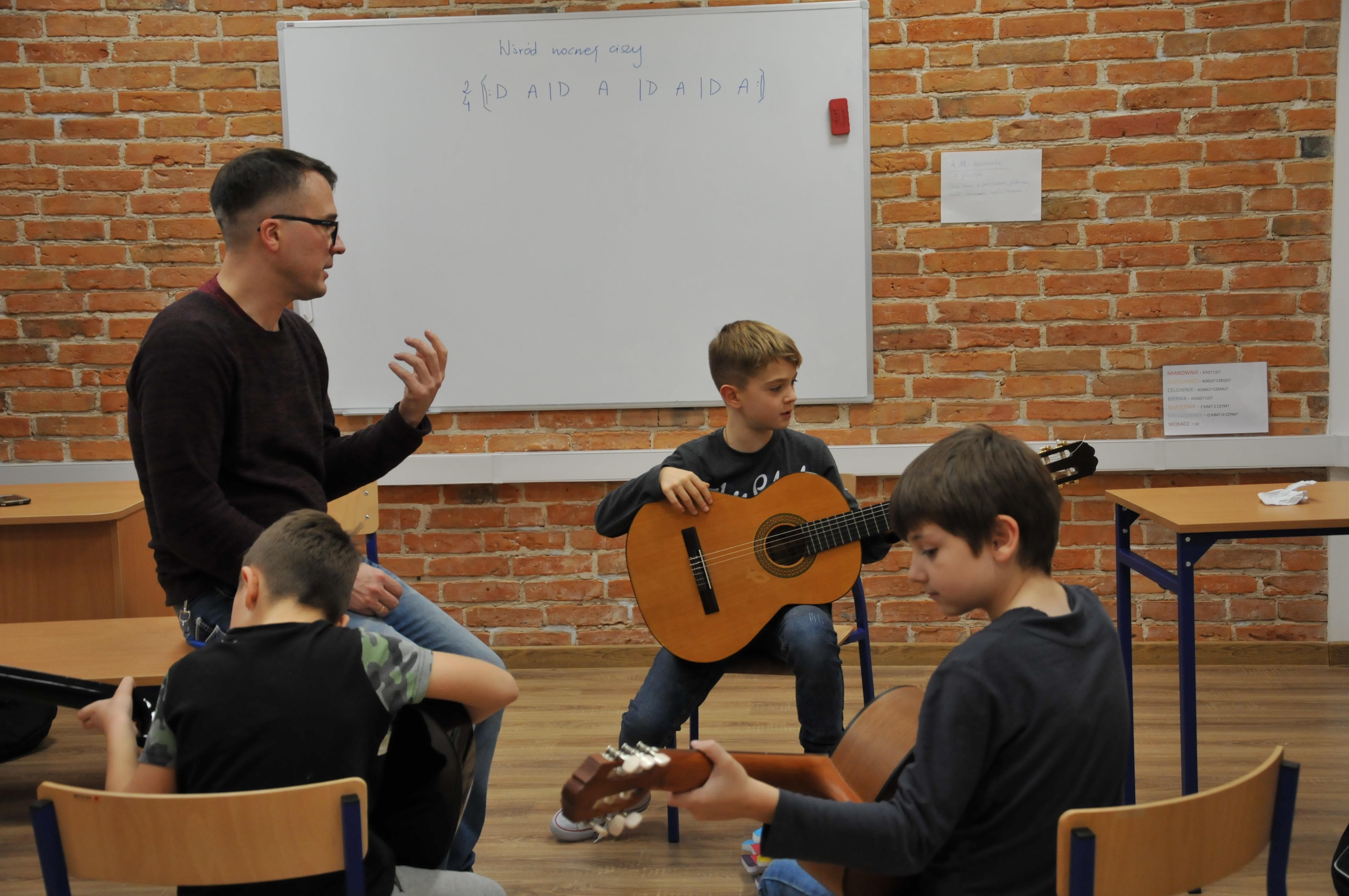Zajęcia muzyczne w Rembertowie